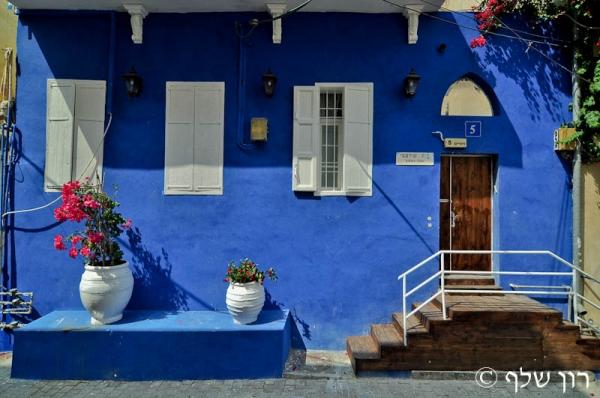 צימרים הבית הכחול - blue house בתל אביב