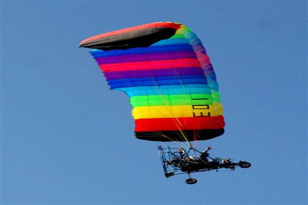 טרקטורון מעופף אקסטרים באוויר | טיולים בצפון