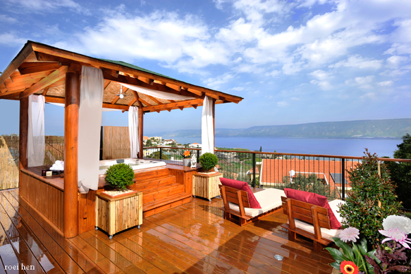 צימרים סוויטות מצפה האגם - לחופשה מרעננת ברמת הגולן והכנרת